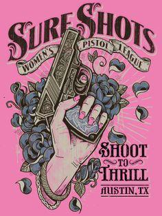 Sure Shots: Women's Pistol League by Derrick Castle
