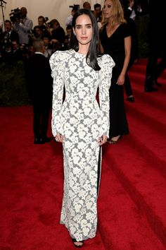 Met Gala 2015: The Best Looks From The Carpet | The Zoe Report Jennifer Connelly in Louis Vuitton