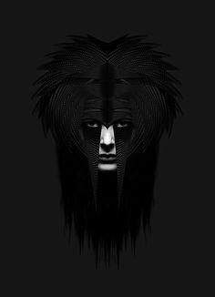 RYAN DOCO CONNORS #black #portrait #dark