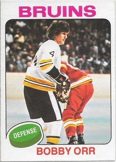 Bobby Orr Hockey Cards Inserts Rookie Cards for sale at discount prices. Hockey Cards, Baseball Cards, Lord Stanley Cup, Bobby Orr, Star Stickers, Sports Figures, Upper Deck, Hockey Players, Big Kids