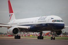 British Airways Boeing 757 in 1983 livery