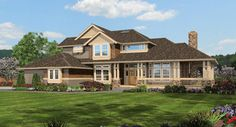 Chinook House Plan - 3215