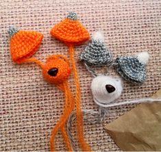 Amigurumi Raccoon & Fox Crochet pattern, PDF tutorial Crochet Animal Patterns, Crochet Doll Pattern, Stuffed Animal Patterns, Crochet Patterns Amigurumi, Crochet Dolls, Doll Patterns, Knitting Patterns, Handmade Ideas, Handmade Crafts