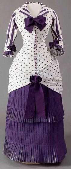 Summer Day Dress 1880