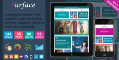 Deals Surface - Colorful Responsive Email Templateonline after you search a lot for where to buy