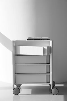 Ally Med Trolley with 4 Drawers