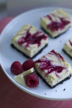 These raspberry white Chocolate cheesecake bars recipe are simple but full of flavor dessert.