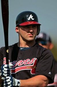 @Elizabeth Lockhart harper I didnt know your hunby played for the Braves! lol Him and Dustin look so much a like!