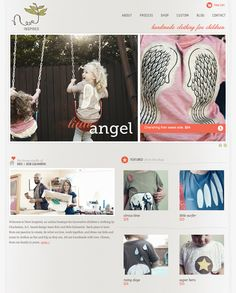 refreshing, stylish and fun!  http://designshack.net/articles/layouts/10-rock-solid-website-layout-examples/