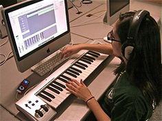 Computer room - mixing music Concert Hall, Office Phone, Landline Phone, Classroom Ideas, Music, Musica, Musik, Classroom Setup, Muziek