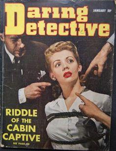 Daring Detective - January, 1943