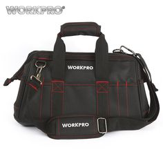 compare prices workpro 16 waterproof tool bags tools organizer electrician tool kits #electrician #tool #kit