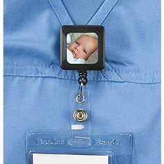 """""""PhotoFunWear"""" Retractable Badge Holder..Fun Way to To Show Off Your Loves ... WANT!"""