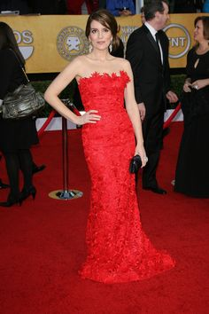 Ladies in red at the 2011 SAG Awards