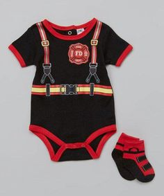 Firefighter onsie