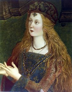 Lucrezia Borgia April 1480 – 24 June was the illegitimate daughter of Rodrigo Borgia, who later became Pope Alexander VI. Costume Renaissance, Renaissance Portraits, Renaissance Paintings, Renaissance Fashion, Italian Renaissance, Renaissance Art, Lucrezia Borgia, Los Borgia, The Borgias