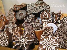 Blockwallah-leimasimet kaiverretaan käsin, jokainen leimasin on kuin pieni taideteos.