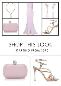 """""""Outfit # 3217"""" by miriam83 ❤ liked on Polyvore featuring Boucheron, Alexander McQueen, Sergio Rossi and Elizabeth and James"""