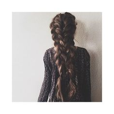 Fishtail ❤ liked on Polyvore featuring hair