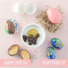 Healthy Swaps for Your Favorite Easter Treats: Instead of Cadbury Creme Egg, Try Creamy Yogurt Cup   CookingLight.com