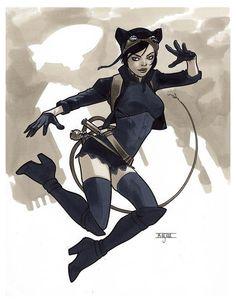 Steampunk Catwoman by Mahmud Asrar
