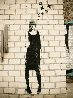 http://www.widewalls.ch/artist/xoooox/ #streetart #xoooox