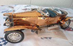 Franklin Mint 1921 Rolls Royce Silver Ghost with Copper Body 1:24 B20UX56 #FranklinMint #1921ROLLSROYCE