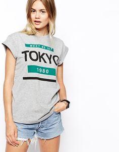 ASOS T-Shirt with Tokyo Print