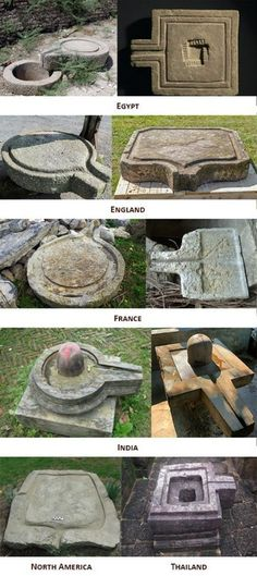 The shiva lingam stone's roots in antiquity go beyond orthodox Hinduism Aliens And Ufos, Ancient Aliens, Ancient History, Ancient Mysteries, Ancient Artifacts, Design Jardin, Mystery Of History, Strange History, Ancient Architecture