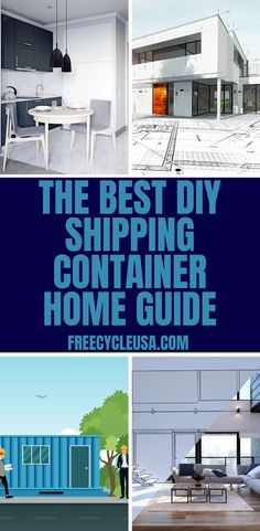 When building a shipping container home, there are several things you need to know to ensure your home is structurally sound, sustainable, and beautiful. #freecycleusa Building A Container Home, Container House Design, Building Code, Building Plans, Shipping Container House Plans, Building Department, House Blueprints, Aesthetic Design, How To Plan