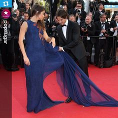 #Repost @popsugar ・・・ These two! Ian Somerhalder dotes on wife Nikki Reed at the Cannes Film Festival.
