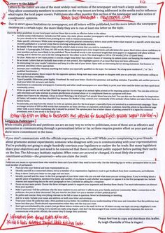 Leaflet: Tips for Effective Letter Writing - page 2
