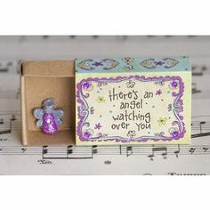 "Matchbox Cards are a unique a thoughtful way to give a little love. Each has a sweet sentiment on the front, a ""To"" and ""From"" spot on the back, and a tiny treasure hidden inside. ""Cross All Things Ar"