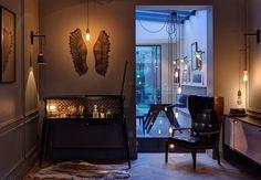 מעניין לעשות משהו עם מנורה עומדת וכנפיים מאחור Furniture, Lighting, Motorcycles And Rock&Roll