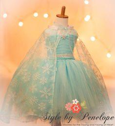 Frozen's Queen Elsa Tutu Dress by StyleByPenelope on Etsy, $45.00