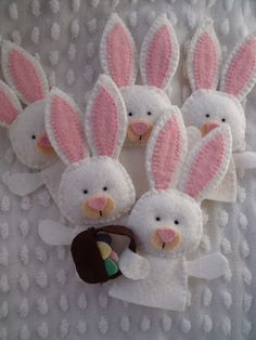 Dandelion Wishes: Search results for Easter bunny finger puppets