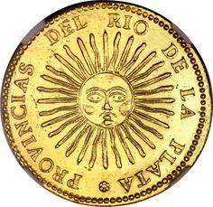 Argentina: La Rioja gold 8 Escudos 1832 RA-P