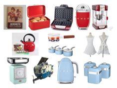 Designer Clothes, Shoes & Bags for Women Interior Decorating, Interior Design, Swan, Interiors, Shoe Bag, Retro, Polyvore, Kitchen, Accessories