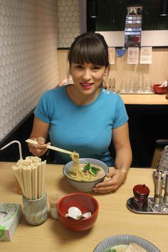 From her ramen exploration in Japan to an intriguing film, Rachel Khoo shares her adventurous finds from this week. Rachel Khoo, Kitchen Recipes, Cooking Recipes, Hot Sausage, Food Program, Tv Chefs, Cycling Girls, Bond Girls, Tv Presenters