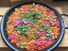 を頂きました。 パエリア #vegan #vegetarian #vegankobe #kobe #paella #ヴィーガン #ベジタリアン #動物性不使用 #菜食 #神戸 #パエリア (N'ocean)