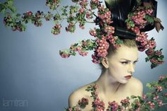 Fashion with flower