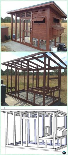 DIY The Palace Chicken Coop Free Plan & Instructions - DIY Wood Chicken Coop Free Plans #petchickens