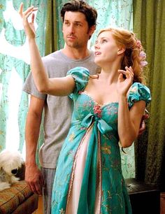 These two actors. And this cute movie.. and her dresses.