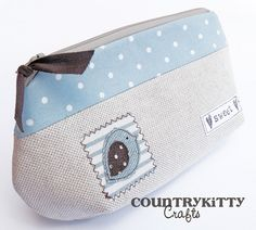 pouch sweet birdie by countrykitty, via Flickr