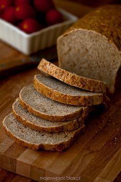Quick and easy bread półrazowy Pan Bread, Bread Baking, How To Make Bread, Food To Make, Bread Recipes, Baking Recipes, Veggie Recipes, Polish Recipes, Polish Food