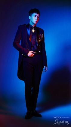 VIXX is returning with the last installment to their trilogy entitled 'Kratos,' and they are dropping the second set of concept photos. Lee Hong Bin, Moorim School, Ravi Vixx, Jellyfish Entertainment, Perfect Boy, Beautiful Songs, Kpop Boy, Handsome Boys, K Idols