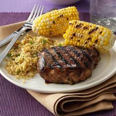 Favorite Grilled Pork Chops Recipe- Recipes I start preparing this entree the night before I plan to grill it. It's a fabulous marinade with a unique flavor, and is of the only ways our family eats pork chops. Marinated Pork Chops Grilled, Pork Chop Marinade, Bbq Pork Ribs, Grilled Meat, Pork Rib Recipes, Grilling Recipes, Meat Recipes, Dinner Recipes, Cooking Recipes