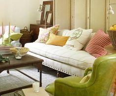 15 idées de salons verts