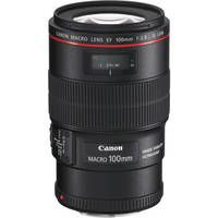 Canon   EF 100mm f/2.8L Macro IS USM Lens USA