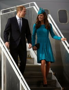 13 April 2014 - Day 7  Prince William and Catherine, Duchess of Cambridge visited Dunedin and Queenstown, New Zealand.